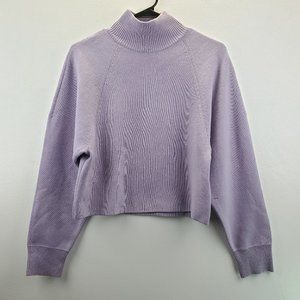 & Other Stories Soft Yak Hair Cropped Sweater